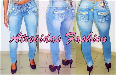 Atrevidas Fashion: Calças Rhero Jeans.