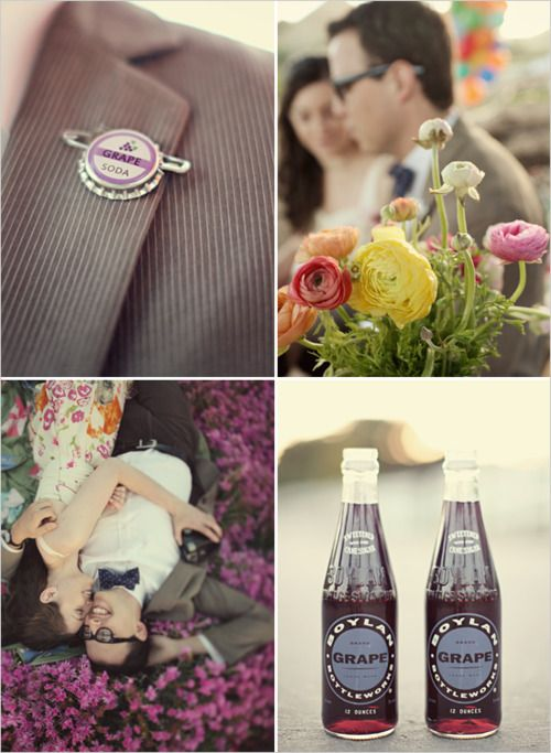 "Up........I wanna renew my vows now  just so I can have an ""Up"" themed wedding with a Grape Soda club badge/pin from Ellie!"