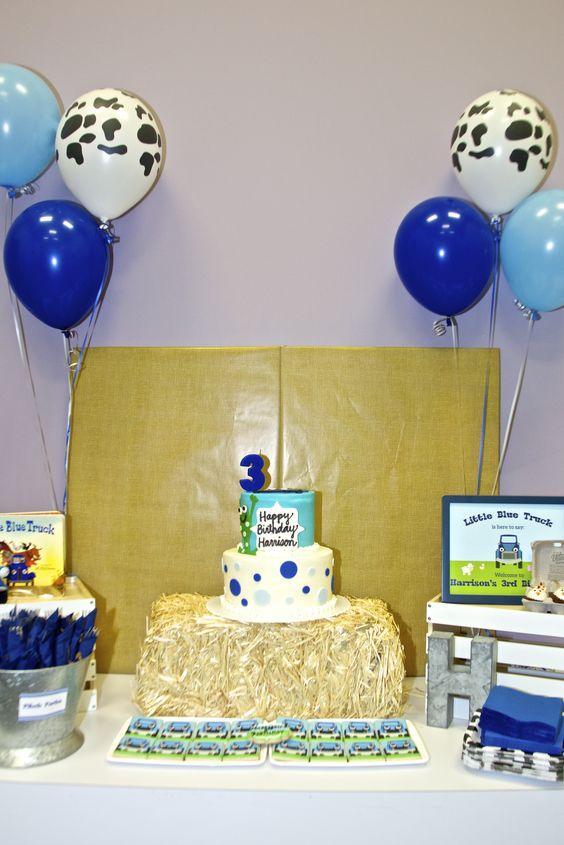Little Blue truck party theme; little blue truck theme; little blue truck party ideas