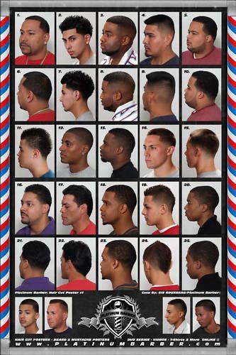Black Men Hairstyles Chart