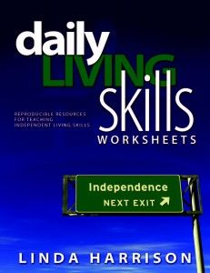 Printables Daily Living Skills Worksheets daily living skills worksheets reproducible resources for teaching independent pinned by sos