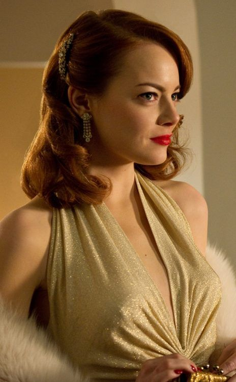 Emma Stone, Gangster Squad. Definitely can't wait to see this one!