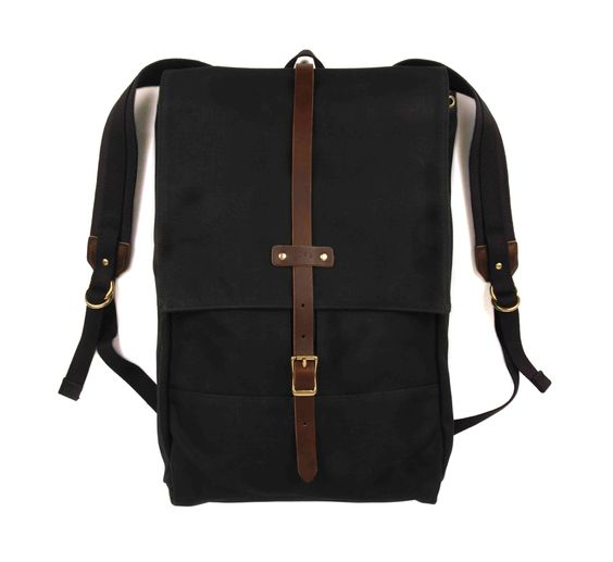 The Archival Rucksack is made from stout closely woven waxed twill and is a modern interpretation of the traditional canoe pack. With a slim profile, durable construction, and sensible features this b...