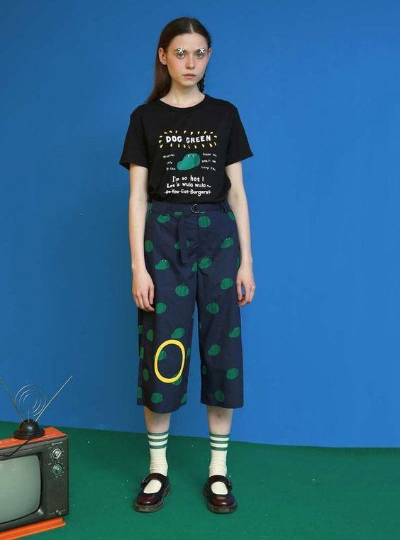 Tyakasha Mr. Green Digital Print Watermelon Pants - BKBT Concept ...