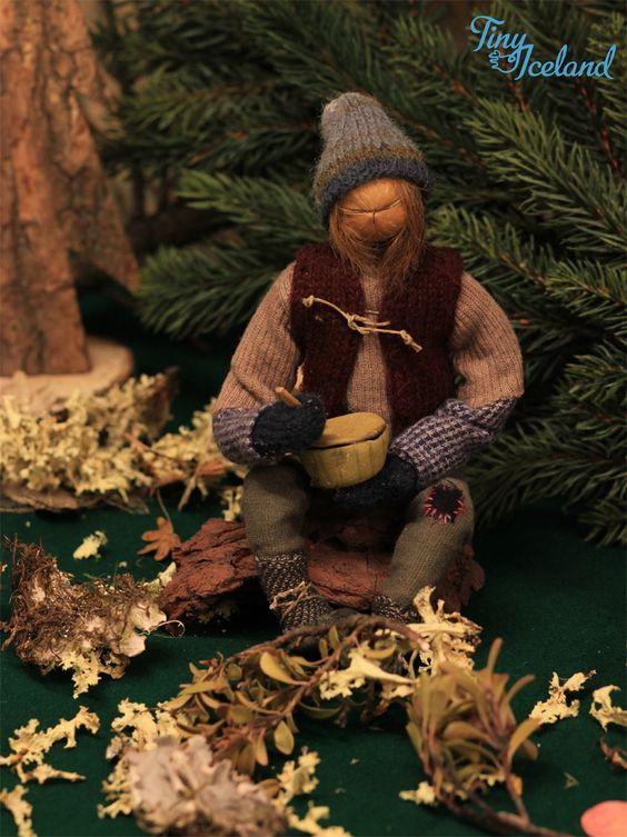 Askasleikir - Bowl Licker (The Icelandic Santa Claus, Yule Lad) #Iceland