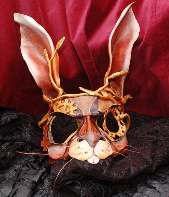 March Hare Alice In Wonderland: RESERVED For Amy (with Paid Deposit) Steampunk March Hare