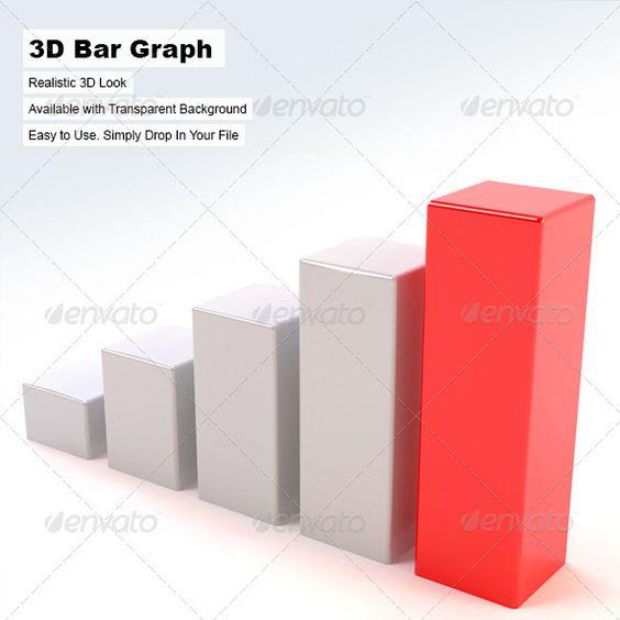 3d Bar Graph Bar graphs, Website designs and 3d - bar graph blank template