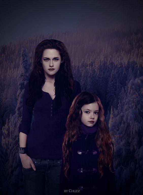 The Twilight Saga Breaking Dawn Part 2: Bella & Reneesme Cullen