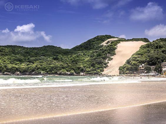 Uma viagem é sempre inesquecível. Viaje para Ponta Negra, em Natal, e curta as  belas praias e dunas. #ikesaki50anos