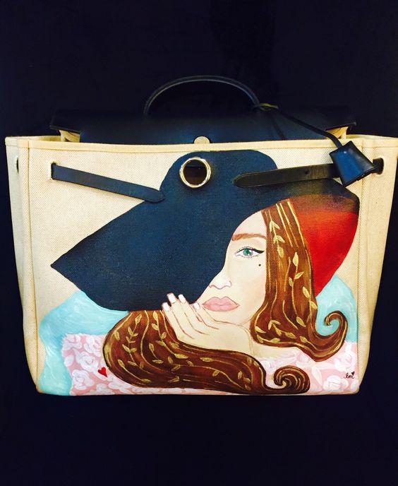 buy a hand psinted hermes bag replica