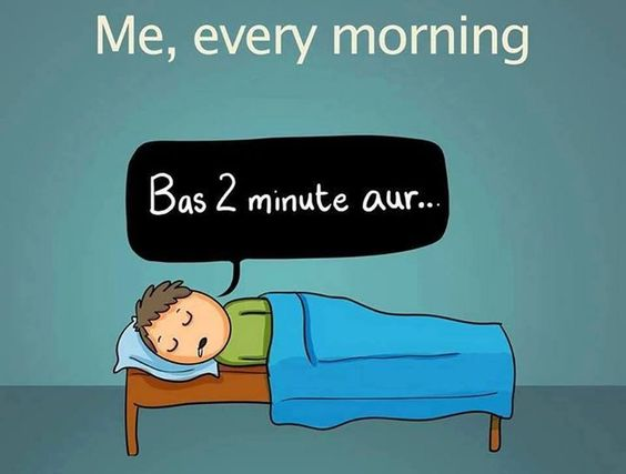 Every Morning..