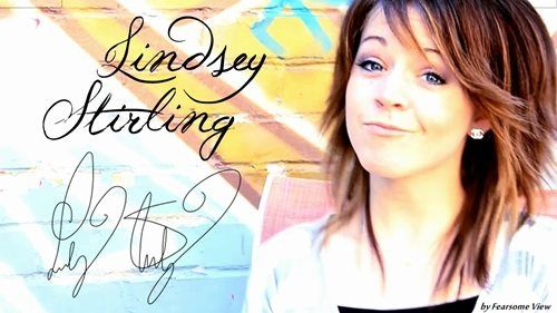 Probably the closest I'll ever get to getting Lindsey's autograph, but oh well! Now my board has been signed by Lindsey Stirling herself. Be jealous.