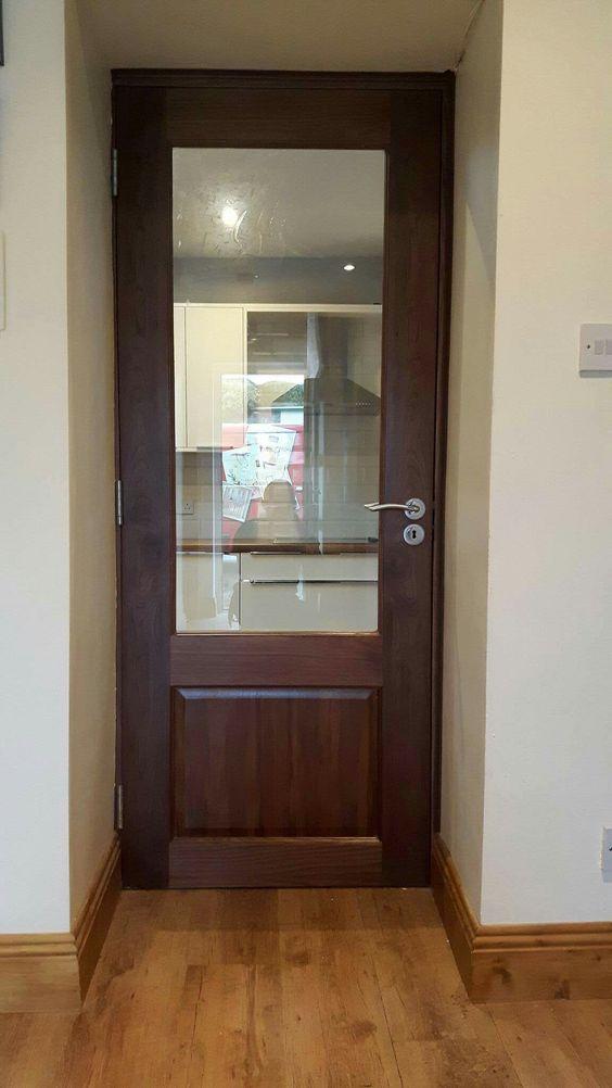 Walnut door and walnut frame by Murphy Larkin