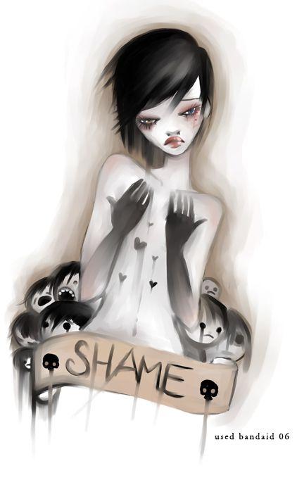 shame by used-bandaid on deviantART