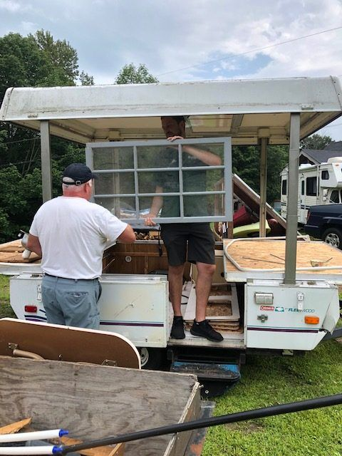 How To Build A Bakery Food Trailer Converted Pop Up Camper In
