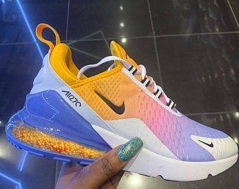Nike air max 270 | Etsy (con imágenes) | Zapatos nike ...