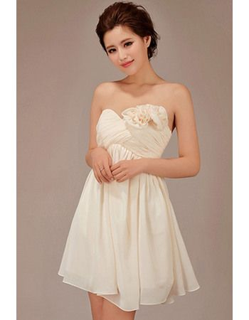 Discount Short Empire Sweetheart Chiffon Bridesmaid Dresses - US$ 108.99   BuyBuyDress.com