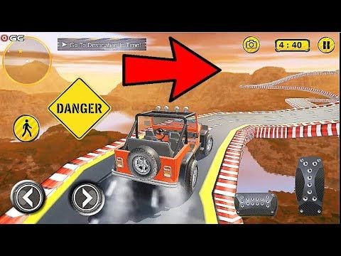 Offroad Jeep Prado Driving Car Stunt 4x4 Suv Impossible Games