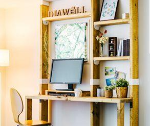 ディアウォールギャラリー紹介 Diawall公式サイト 玄関 インテリア Diy ディアウォール 壁 棚