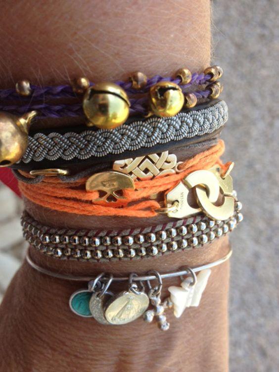 Les bracelets de Stéphanie