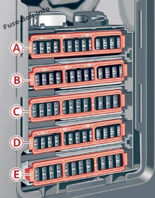 kia optima fuse box diagram audi a4 s4  b9 8w  2017  fuse box diagram small luxury cars  audi a4 s4  b9 8w  2017  fuse box
