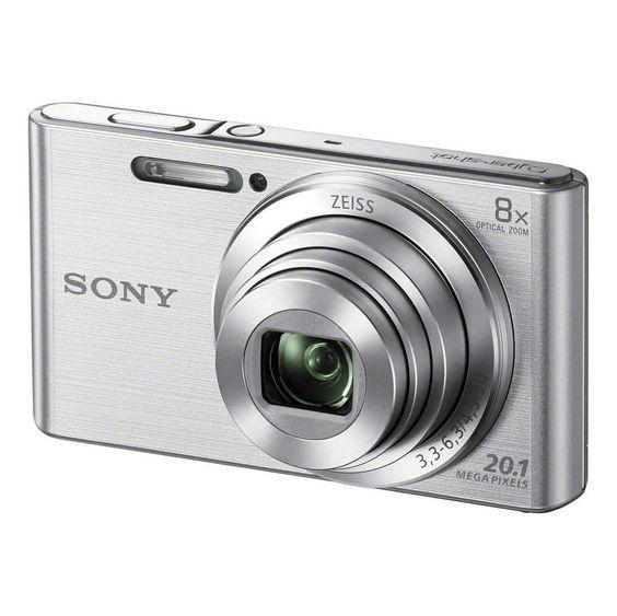Câmera Digital DSC-W830 - 20.1MP / 8x / HD - Prata - Sony -Câmeras e Filmadoras - Cameras-Compactas - Walmart.com