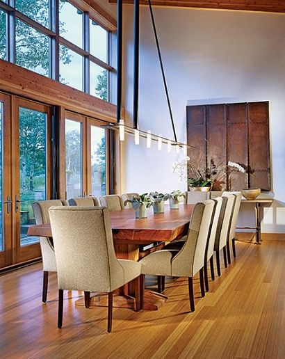 Gorgeous dining room ~ From The Enchanted Home
