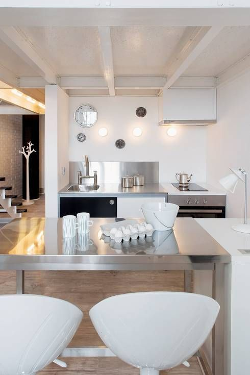Soggiorno in stile Scandinavo di justyna smolec architektura & design