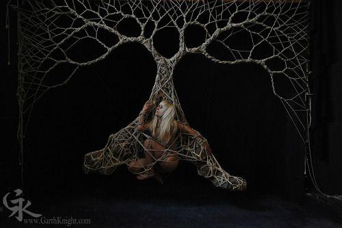 Rope tree: Japanese Rope, Rope Tree, Erotic Bondage Art, Bondage Shibaru, Photographer Garth, Bdsm Art