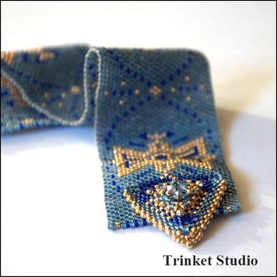 #PUK, #Mab, #Miranda , #Earrings, #necklace, #bracelet , #TrinketStudio, #Beading, #Swarovski, #peyot , #stitch #geometrical, Polandhandmade.pl , #Polandhandmade , #beadedbeads , #beaded, #beads
