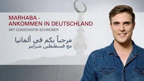 """Arabisch mit deutschen Untertiteln: Marhaba, Teil 16: Angst vor Terror und die """"Alternative für Deutschland"""""""