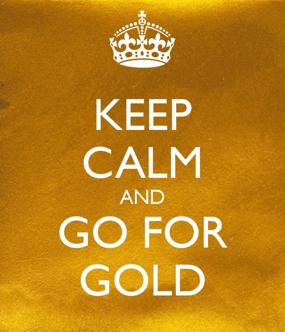 going for gold keep calm and gold on pinterest. Black Bedroom Furniture Sets. Home Design Ideas