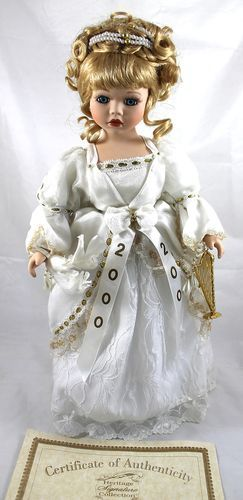 Heritage Signature Collection 2000 New Year Millenium Girl Porcelain Doll | eBay