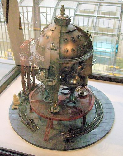 Celestial Sphere (Victorian Spaceship), Steampunk Exhibition, Kew Bridge Steam Museum - London. (par Jim Linwood)