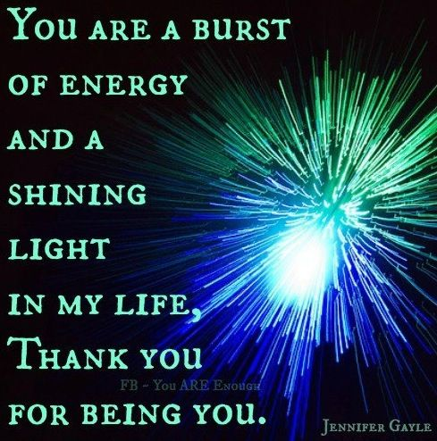 Shining Light In My Life Quote Via Www Facebook Com Knowyouareenough Star Quotes Light Quotes My Life Quotes