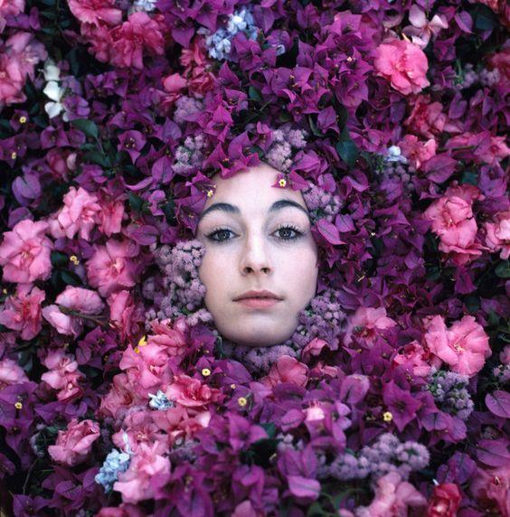 Philippe Halsman, 1968. Actress Anjelica Huston. © Philippe Halsman/Magnum Photos http://www.magnumphotos.com/image/NYC160859.html