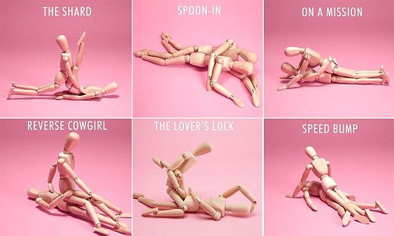 British lingerie giant and sex shop Ann Summers has released a 30-day sex position guide to help couples spice things up in the bedroom - and the rest of the house.