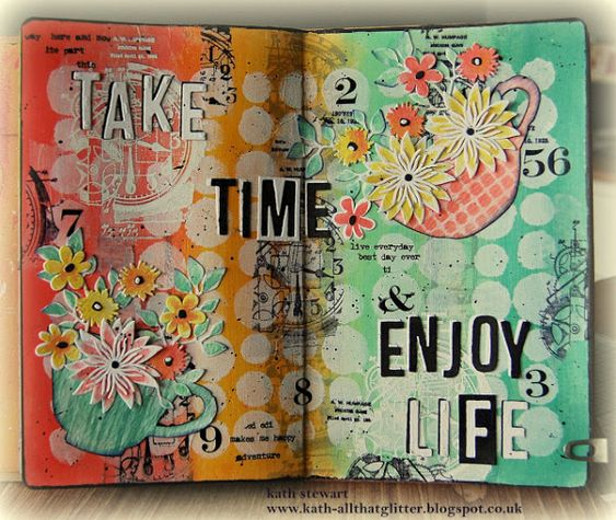 Mixed Media Journal Pages