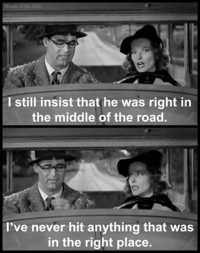 Bringing Up Baby: Cary Grant and Katharine Hepburn