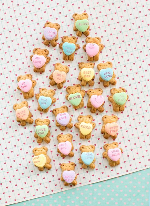 Easy Valentine's Day treats for the classroom that work at the last minute.