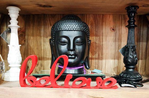 decoration store loja de decoração brasil lá em casa believe buda budah acredite budismo