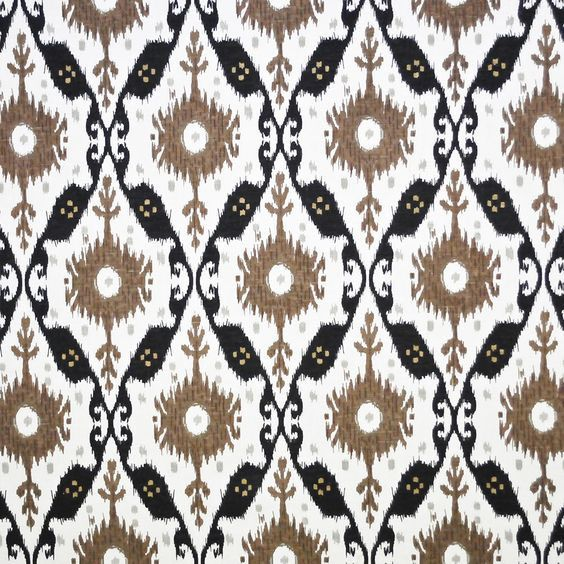 Clarence House Chennai Ikat In Espresso 4 1 Clarence House Fabric Upholstery Fabric