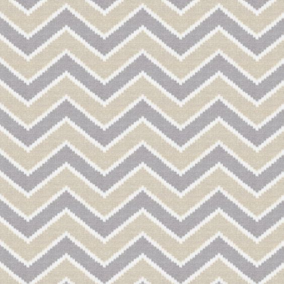 Gray & Tan Hazy Chevron Fabric 18in | Rugs and Fabric | Pinterest ...