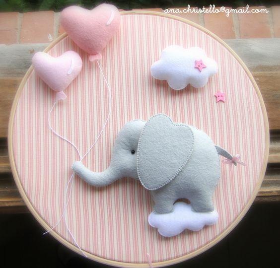 : Maternidad Puerto - Elefante marco