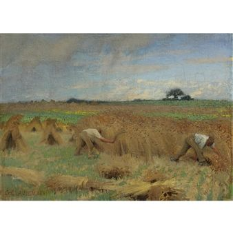 Reapers By George Clausen