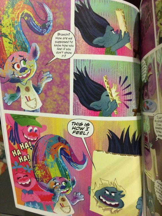 troll party dreamworks true colors pixar poppy fanart drawings - True Colors Book