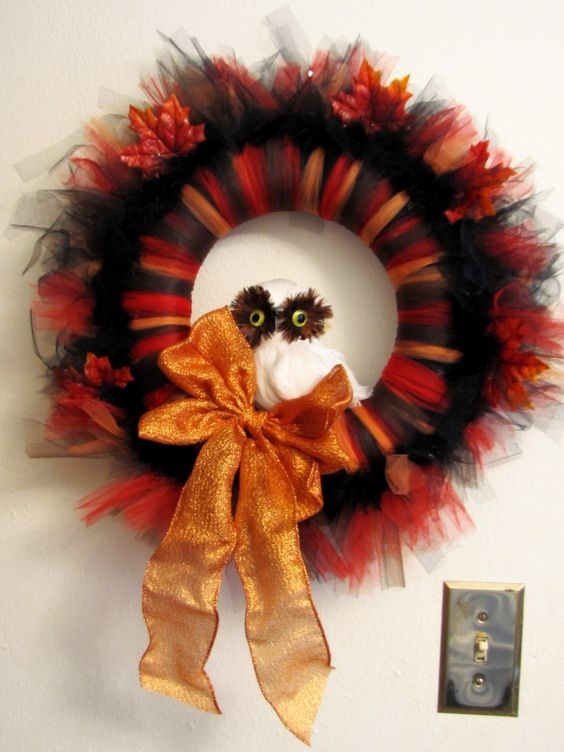 Autumn Wreaths Fall Wreaths And Tutorials On Pinterest
