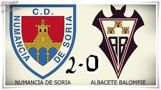 Y COLORÍN COLORADO ESTE INFIERNO SE HA ACABADO.  Albacete Balompié CRONICA Fútbol Liga Adelante 2015/16 Noticias deportes Numancia