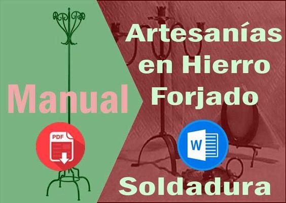 Manuales+de+Artesanía+en+Hierro+Forjado,+Corte+y+Soldadura