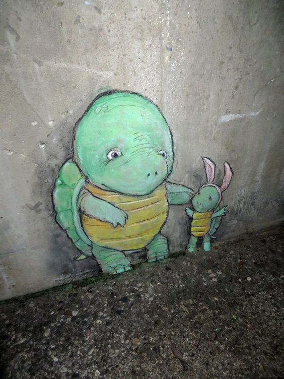 Chalk Art par David Zinn